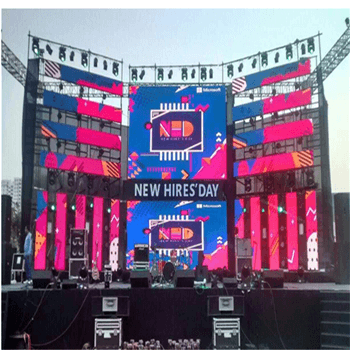 SMD Module Outdoor LED Video Wall Panels P3.91 / Full Color LED Display Screen